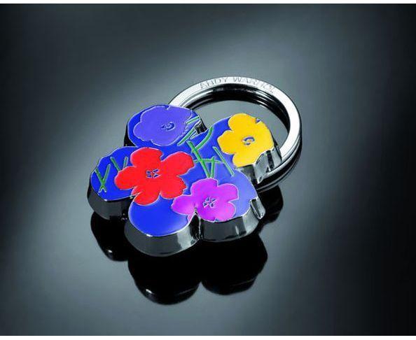 Porte-clés d'Andy Warhol - FLOWERS