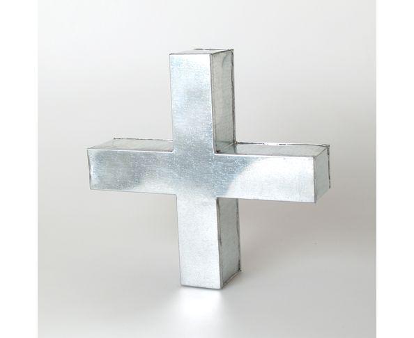 Lettre en métal + - Metalvetica de Seletti