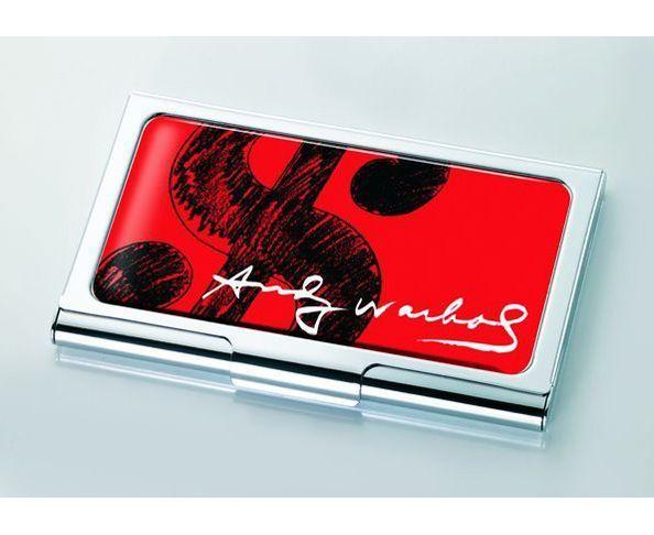 Porte-cartes d'Andy Warhol - DOLLAR SIGN