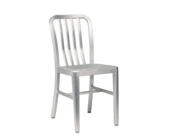 ALCATRAZ chaise alu vernie