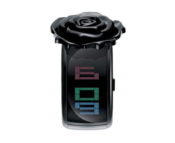 Montre Pixel Daze Brac Noir + Fleur