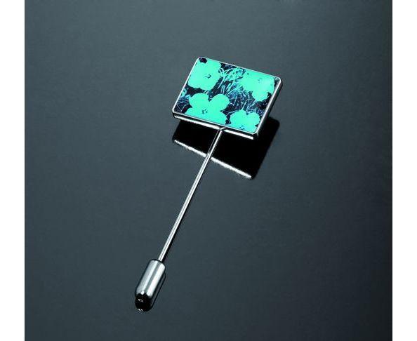 Boutons de manchette d'Andy Warhol FLOWERS