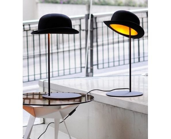 Lampe de table JEEVES Chapeau melon - Innermost