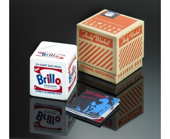 Tirelire d'Andy Warhol Brillo Box
