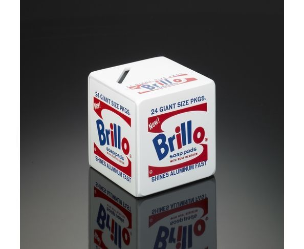 Tirelire d'Andy Warhol Brillo Box