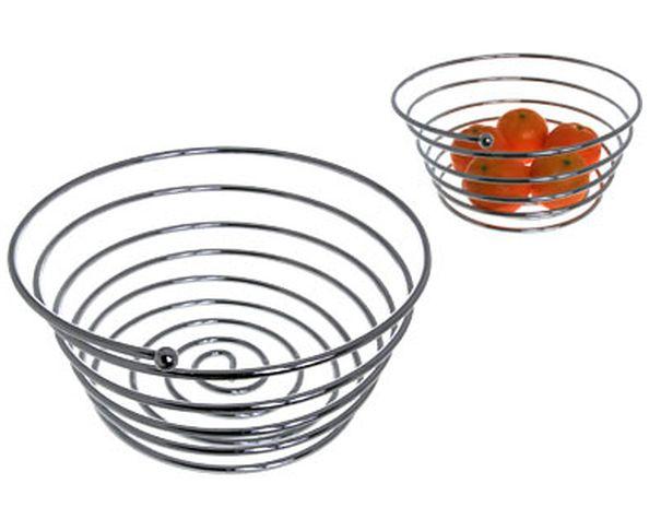 Coupe à fruit sur ressort en métal