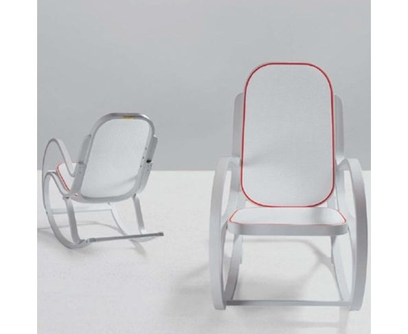 Rocking Chair blanc « Rock me »