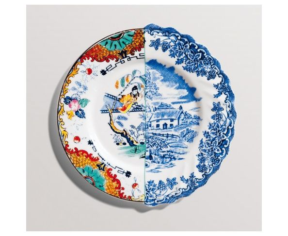 Assiette à dessert en Porcelaine Hybrid - Valdrada