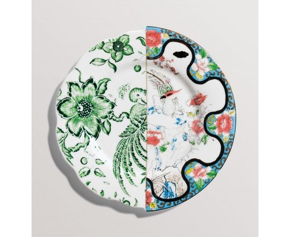 Assiette à dessert en Porcelaine Hybrid - Zoe | Seletti