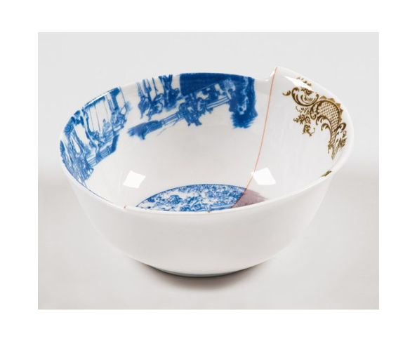 Bol en Porcelaine Hybrid - Despina | Seletti
