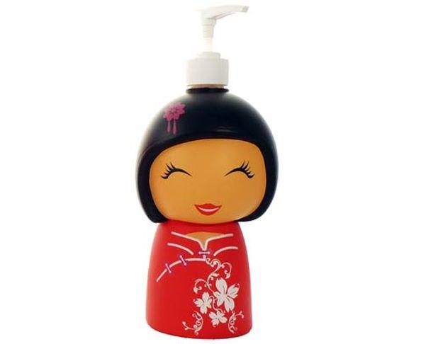 Distributeur de savon petit chinoise Rouge