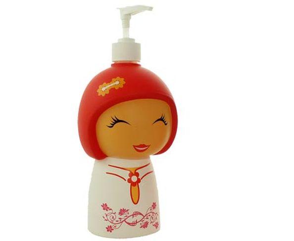 Distributeur de savon petite chinoise - blanc