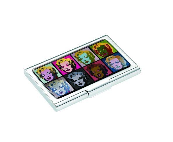 "Etui carte & porte-clés d'Andy Warhol ""Marilyn M"""