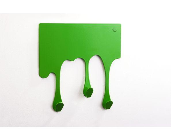 Porte Manteau Drop XS Vert de Pulpo - petit modèle