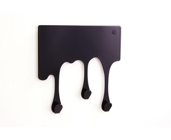 Porte Manteau Drop XS Noir de Pulpo - petit modèle