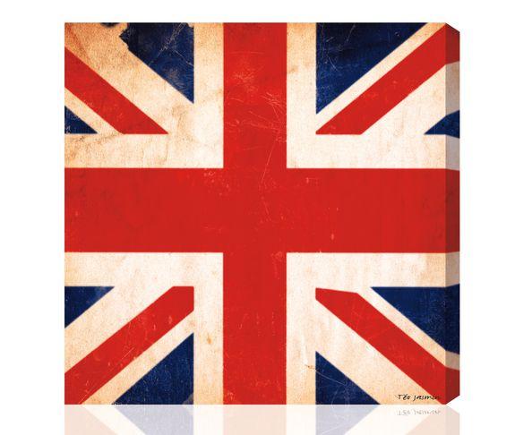 Tableau Union Jack Vintage 1