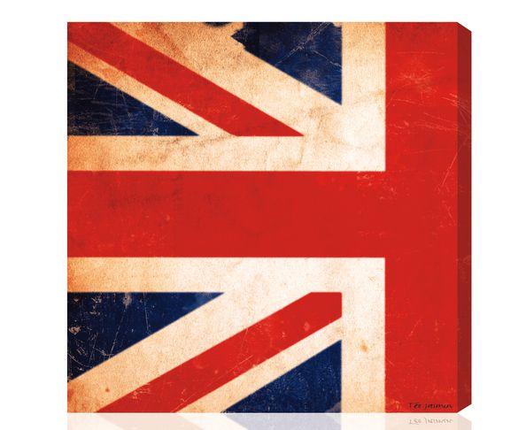 Tableau Union Jack Vintage 2