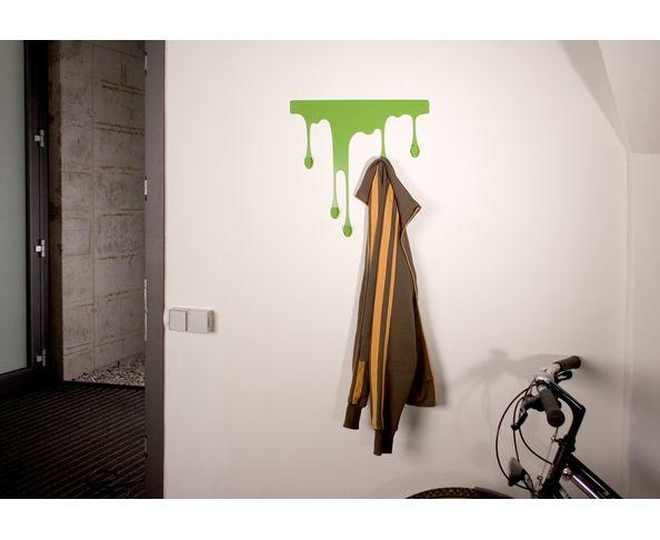 Porte Manteau Drop L Vert de Pulpo - modèle médium