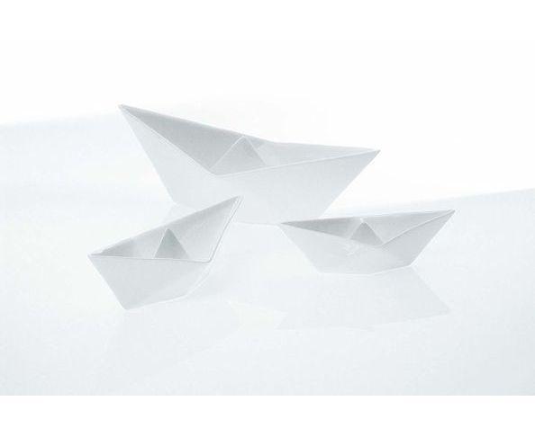 Set 3 barquettes origami en porcelaine - Seletti