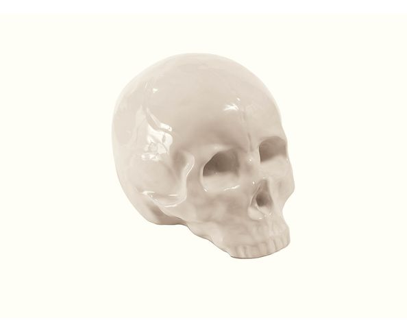 Tête de mort, en porcelaine - Seletti
