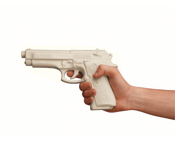 Pistolet en porcelaine  - Seletti