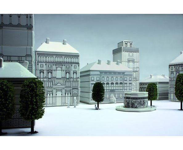 Palace Grandes assiettes en porcelaine - Seletti - Nouvelle finition