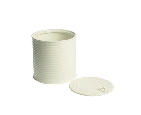 Boite à biscuit en porcelaine SELETTI blanc