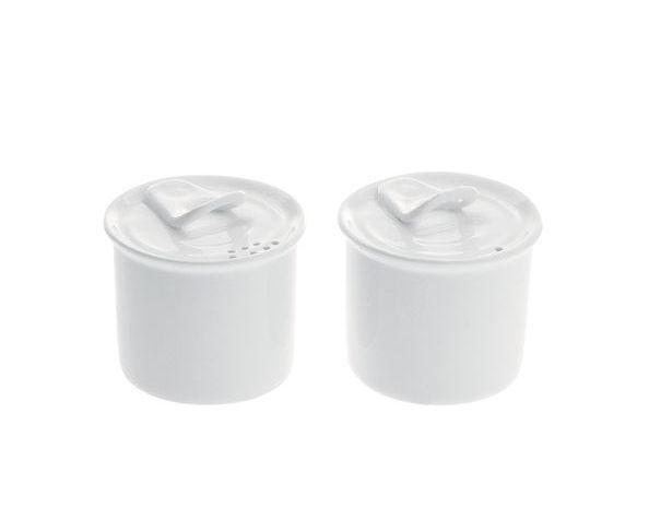Duo sel et poivre en porcelaine - Seletti