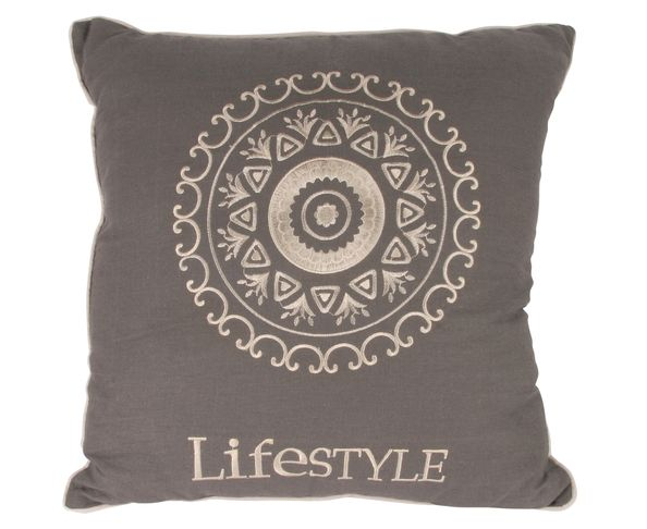 Coussin Lily Gris