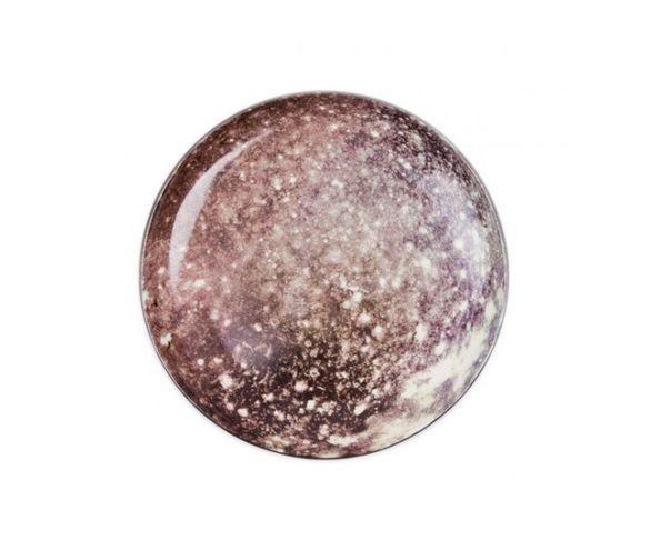 Assiette à dessert en porcelaine Cosmic Diner - Callisto