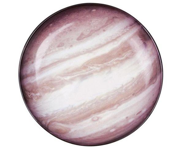 Assiette creuse en porcelaine Cosmic Diner - Giove