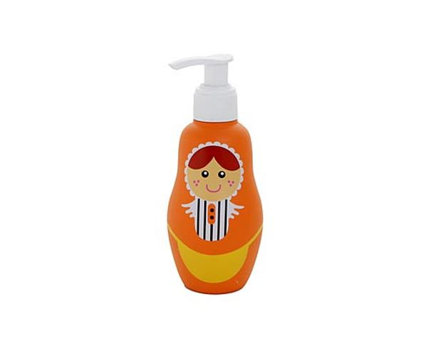 Distributeur de savon Matriochka orange