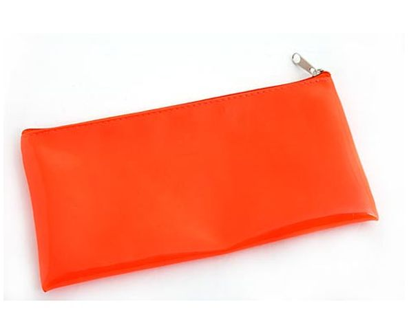 Trousse rectangulaire orange fluo