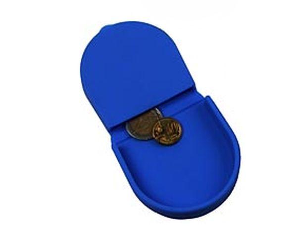 Porte monnaie crapaud silicone bleu