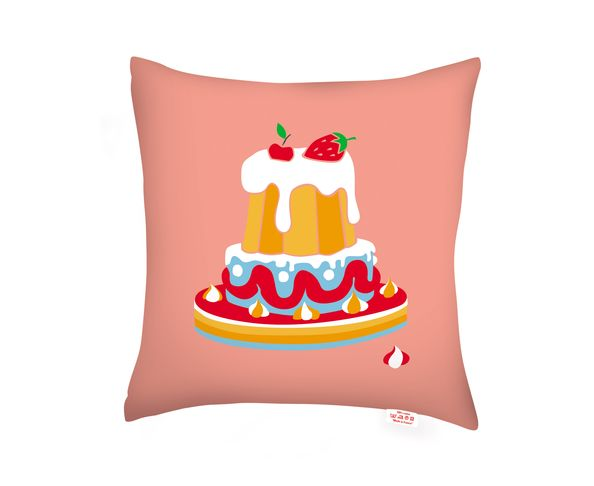 Coussin Pastel Food Recto/Verso d'AK-LH