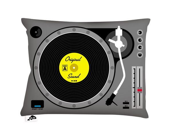 Coussin DJ - 40x30 cm d'AK-LH