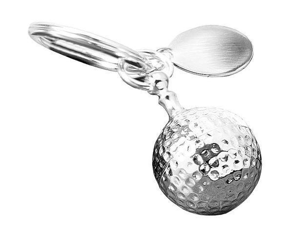 Porte-clés balle de golf / boîte à comprimé