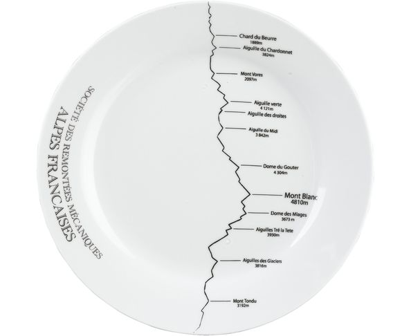 Lot de 6 Assiettes Plates Altitude - Athezza