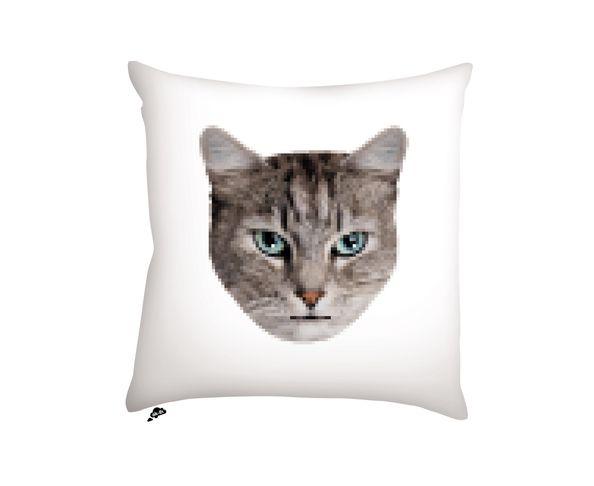 Coussin Cat / Racoon - 40x40 cm