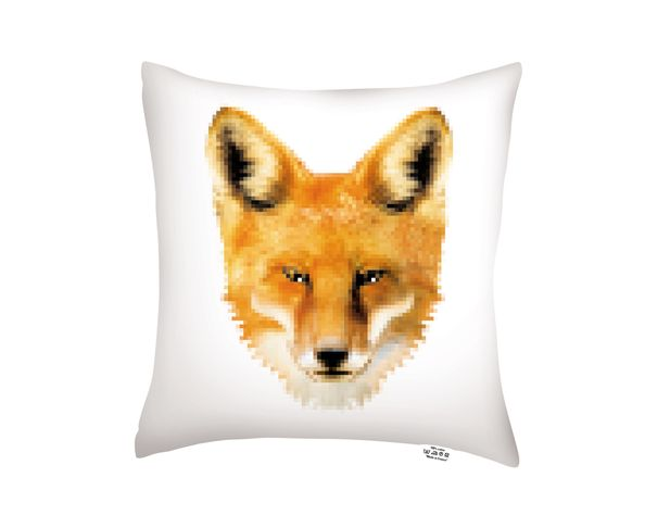 Coussin Dog / Fox - 40x40 cm