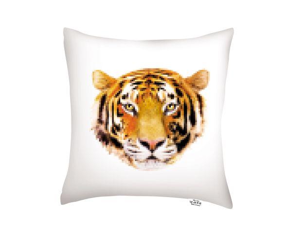 Coussin Lion / Tiger - 40x40 cm