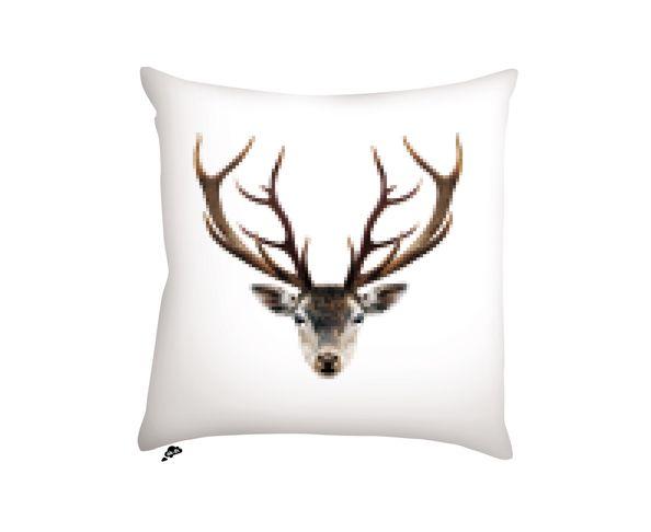 Coussin Deer / Wolf - 40x40 cm