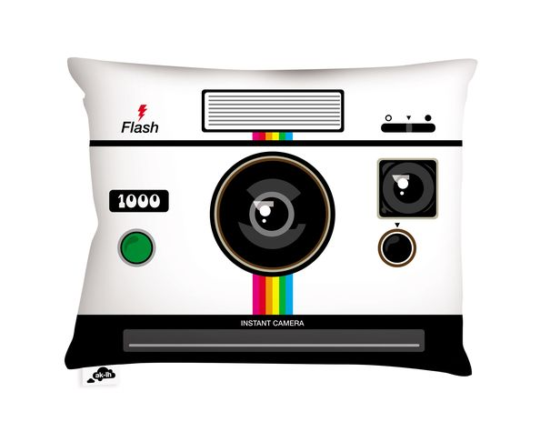Coussin Instant Camera - 60x45 cm
