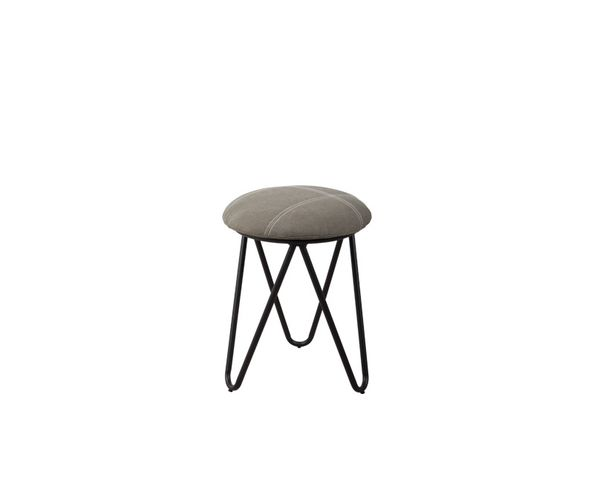 Tabouret Raw Vintage Charbon - Zuiver