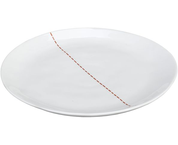 Assiette Dessert Zip Rouge - Athezza
