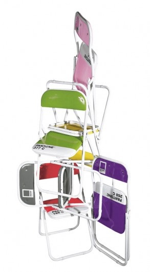 Chaise Pantone Rouge - Seletti
