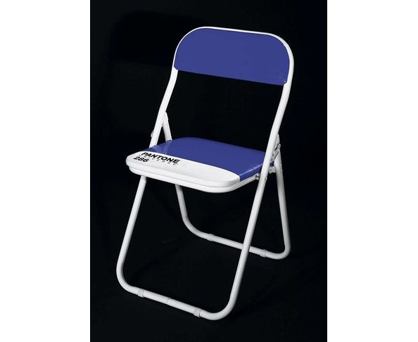 Chaise Pantone Bleue - Seletti