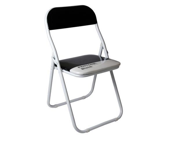 Chaise Pantone noire - Seletti