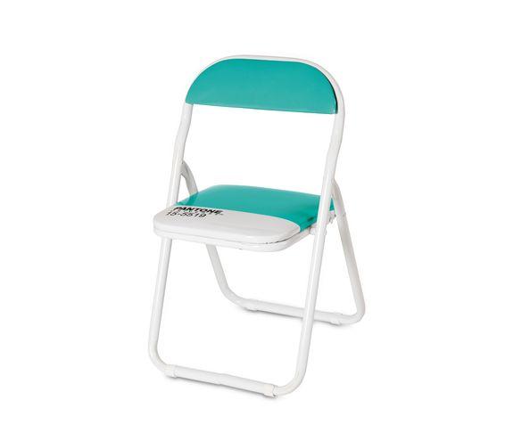 "Chaise enfant Pantone Turquoise - ""PANTONE® 15-5519 - Seletti"