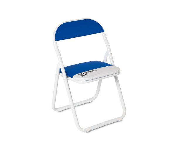"Chaise enfant Pantone Bleue - ""PANTONE® 18-2120 - Seletti"